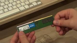 Модуль памяти CRUCIAL DDR4 8Гб 2133