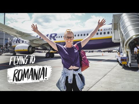 Americans Traveling to ROMANIA for the FIRST TIME! + Airport Horrors 😱 (Greece ✈️ Romania)