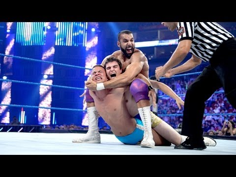 Jinder Mahal Vs. Two Local Athletes: SmackDown, August 10, 2012