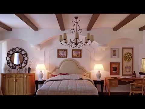 Eco Design _ Wooden beams in the interior 2018 Room design