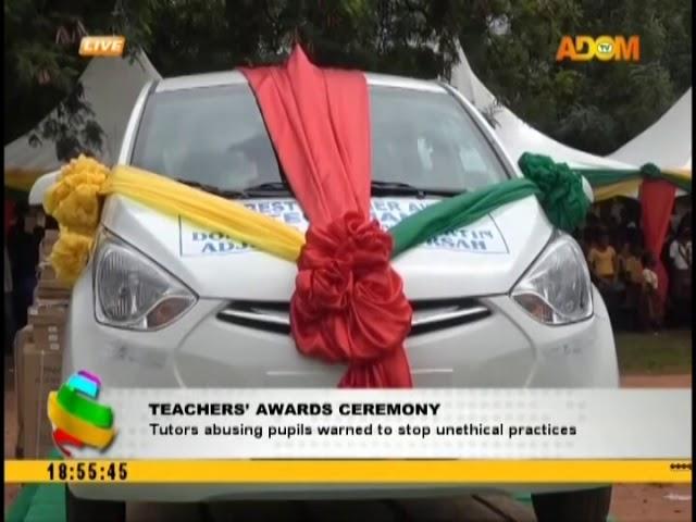 Teachers' Awards Ceremony (17-10-18)