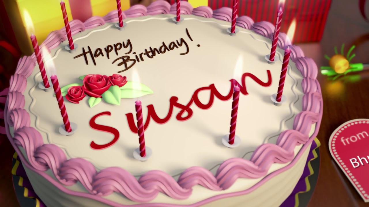 Happy Birthday Susan Youtube