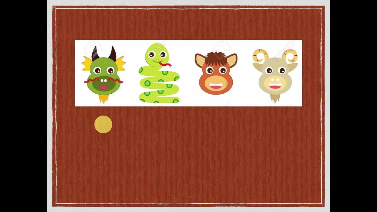 12 Chinese Zodiac animals