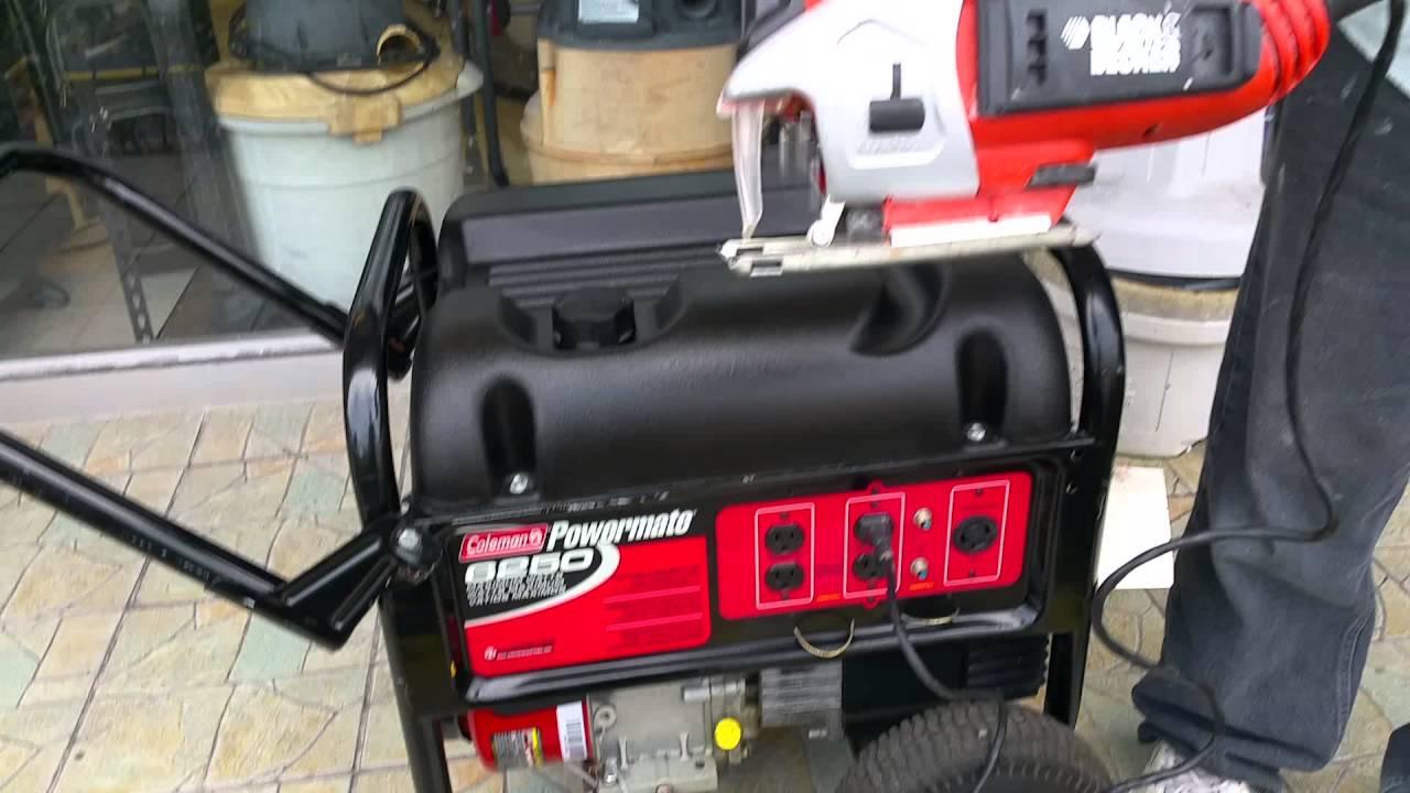 colman power mate 6250 10hp 5000 watt generator youtube rh youtube com Coleman Powermate 5000 Generator Troubleshooting coleman powermate 6250 generator briggs stratton manual