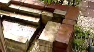 バーベキューコンロ:庭造りDIY(自作) thumbnail