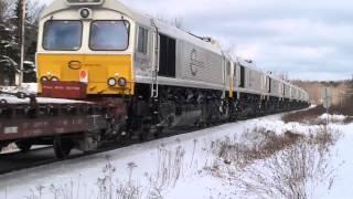 EMD Locomotives Exported Through Port Of Halifax 1999 To 2012