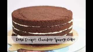 Video Chocolate Sponge Cake (no voice-music version) download MP3, 3GP, MP4, WEBM, AVI, FLV September 2018