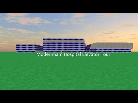 Tour of the Elevators @ Modernham Hospital
