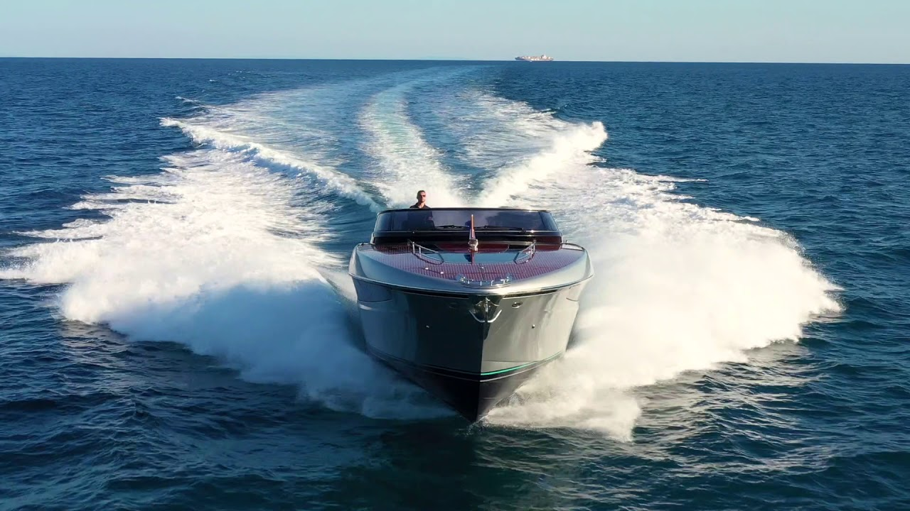 Luxury Yacht   Riva 48&39; Dolceriva   Ferretti Group America   YouTube