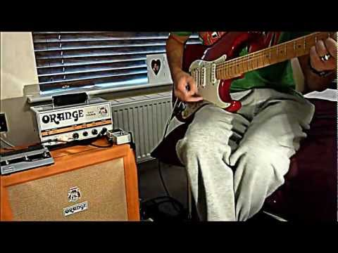 TONE TEST - Orange tiny terror, Orange 1x12 Cabinet, Fender American Deluxe Fat Strat