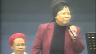 "mam Thabisile Mahlaba - ""I can not come down"" @ Gods Army Crusade"