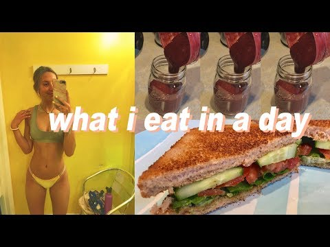 WHAT I EAT IN A DAY | healthy + realistic meal ideas