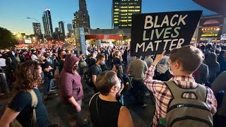 Thousands protest in New York City after indictment in Breonna Taylor case
