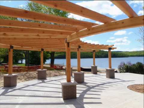 Post And Beam Pavilions Youtube