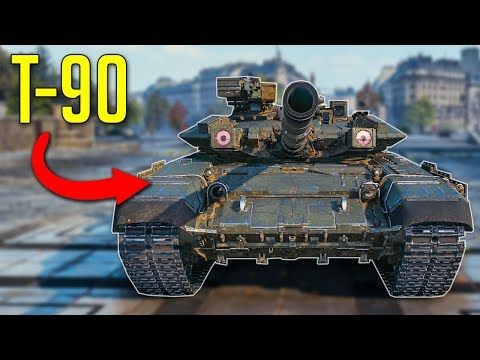T-90 in WOT? • Modern Tanks Model and Skin Mods ▻ World of Tanks