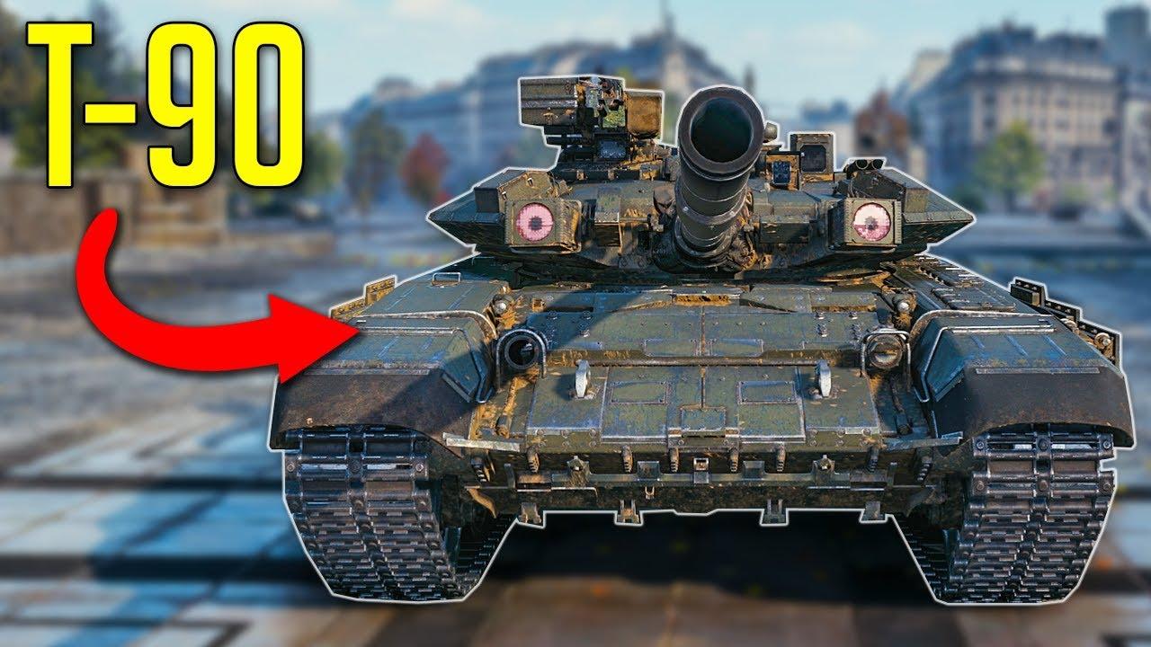 T-90 in WOT? • Modern Tanks Model and Skin Mods ► World of Tanks  Interesting Mods