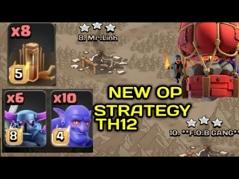 8 EARTH SPELL + 6 PEKKA + STONE SLAMMER :: NEW TH12 WAR 3 STAR ATTACK STRATEGY 2019!! COC