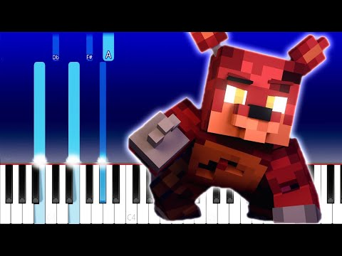The Foxy Song | Five Nights at Freddy's Song | ZAMination (Piano Tutorial) Groundbreaking