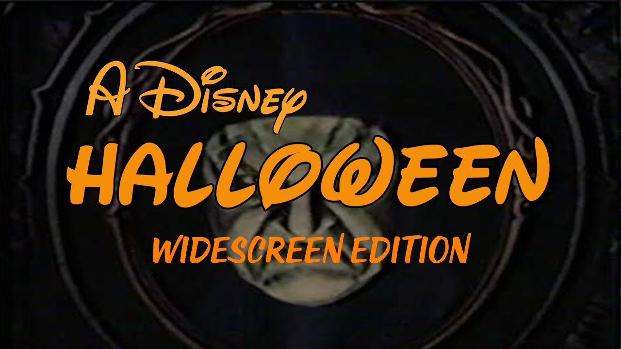 A Disney Halloween (Widescreen) - YouTube
