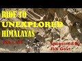 Ride To Unexplored Himalayas | Offroading on DUKE 390 | Sponsored By J&K Govt.