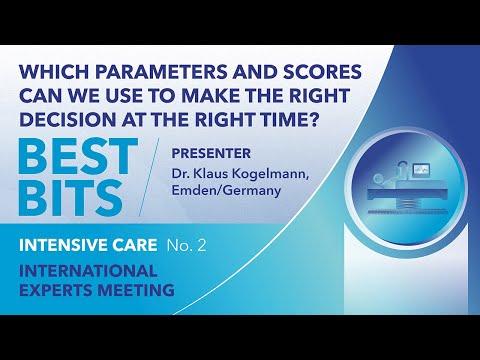 Best Bits | International Expert Meeting | Intensive Care | Klaus Kogelmann