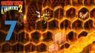 Donkey Kong Country 2 Diddy's Kong Quest Episode 7 Honey Everywhere