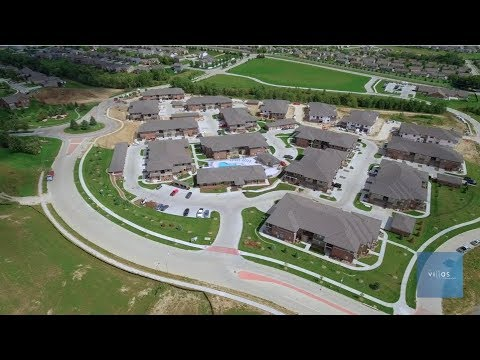 Come home to luxury at The Villas at Falling Waters, West Omaha's best new townhomes for rent