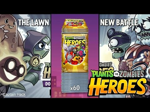Plants vs Zombies Heroes Now Available!!! - Unpacking Premium Multipack!!!