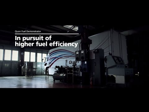 Quon Fuel Demonstrator - In pursuit of higher fuel efficiency