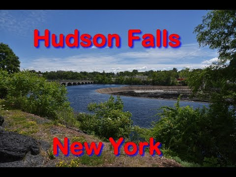 Bakers Falls in Hudson Falls, New York - Travels With Phil