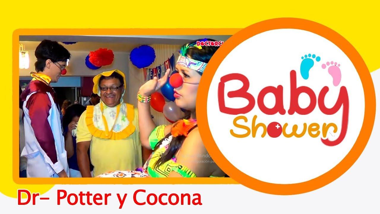 bad8812da Show animación baby shower CLÍNICA DEL DOCTOR CLAUN  Con Cocona Malparturia  y el Dr. Potter