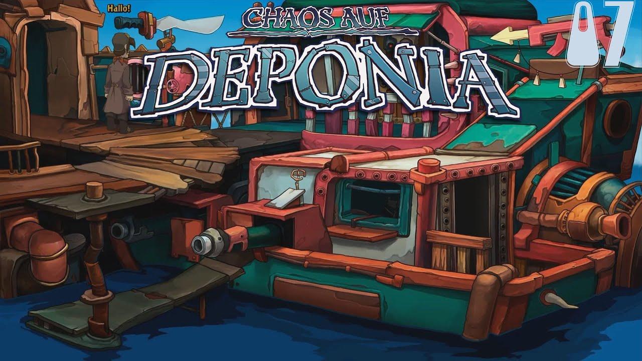 Chaos auf Deponia [HD] 07 - Freche Mädchen und dicke Nasen - Let's Play Chaos auf Deponia