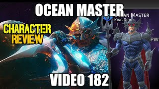 Ocean Master Character Review | DC Legends Mobile Game | Video 182