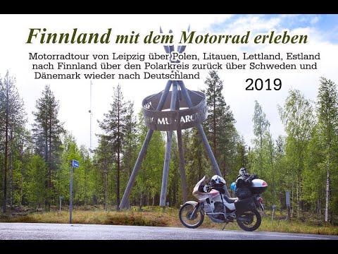 Finnland mit dem Motorrad erleben 2019