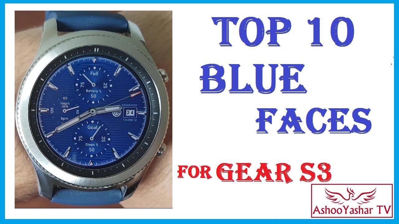 Best Gear S3 Watch Faces 2020 Best Blue Gear S3 watch faces   Top 10 Blue watchfaces for samsung