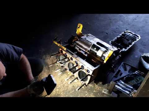 Размороженный блок мотора Zetor 5201.