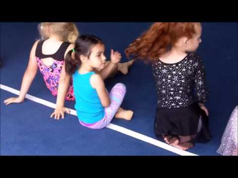 Carly's first gymnastics