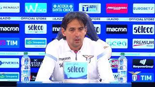 Le parole di mister Inzaghi alla vigilia di Sassuolo-Lazio