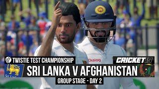 Test Championship - Sri Lanka v Afghanistan - Day 2 Highlights - Cricket 19