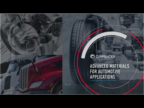 Advanced Materials for Automotive Applications