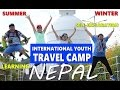 International Youth Camp Nepal - cultural exchange, Travel, Self Exploration, global friendship
