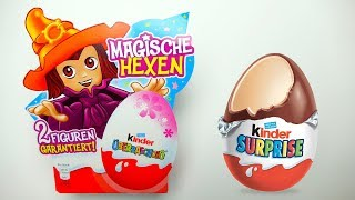 Magic Witch Set - 4 Surprise EGG with Toys