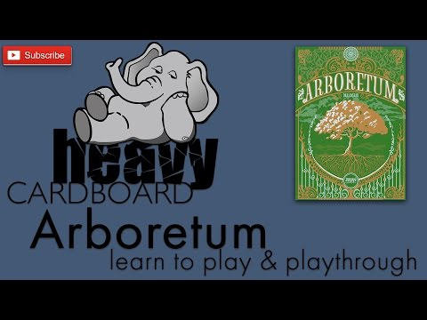 Arboretum 2p Play-through, Teaching, & Roundtable discussion by Heavy Cardboard
