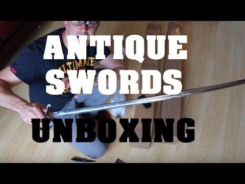 Antique Swords Unboxing - Wilkinsons and Unusual Features