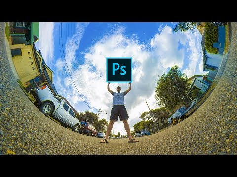 Make Your 360 Photos LOOK BETTER FAST! Photoshop Tutorial