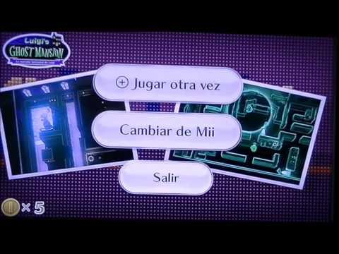 Wii U - Nintendo Land - parte 2 - Luigi Gost Mansion y Mario Chase