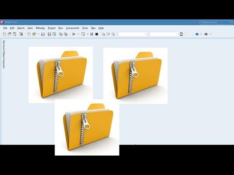 หัดเขียนโปรแกรมด้วย Delphi EP.036   Zip compression