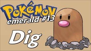 Pokémon Emerald (Detonado - Parte 13) - Dig, Fallarbor Town e Mais Batalhas