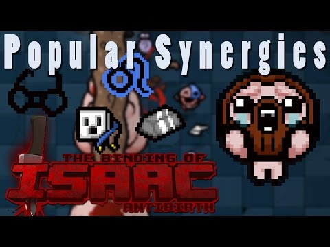 The Binding of Isaac Antibirth   It's Electric!   Popular Synergies!