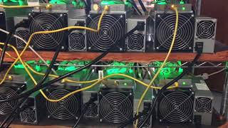 My Antminer S9 bitcoin mining farm. I am using ASIC n GPU mining farm setup . BTC + ETH GIVEAWAY!